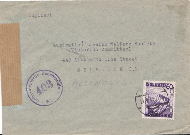 Zensurierte Bedarfspost nach Australien 4655722162_34e8ccf84b_b
