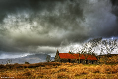 The Red Roof (2) (Shuggie!!) Tags: roof red sky building skye abandoned grass clouds island scotland view williams rustic ruin stormy karl grasses desolate clearances isle hdr windblown dwelling blaven theunforgettablepictures karlwilliams magicunicornverybest magicunicornmasterpiece siusnish