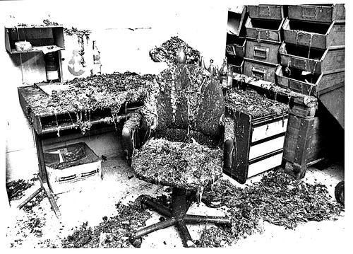 Vitra Office burnt Chair