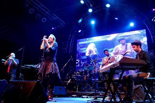 Marlango  en el en Festival Ciudad Emergente CCR