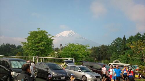 今年も富士山がキレイだ!頑張るぞ〜 #fujihc