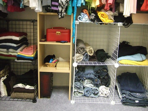 Closet Cleaned