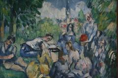 Cezanne - Le Déjeuner sur l'herbe (janeymoffat) Tags: paris france paintings musee museums cezanne orangerie paulcezanne ledéjeunersurlherbe muséedelorangerie