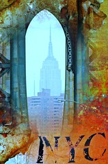 NYC Empire State Orange Abstract Series - #2 (MY PINK SOAPBOX) Tags: city nyc newyorkcity bridge orange newyork abstract brick ladrillo collage graphicart skyscraper poster gold nikon arte manhattan mixedmedia contemporary vivid ciudad urbanart montage empirestatebuilding gothamist calligraphy gotham anahi abstracto astratto hbo touristattraction afiche affiche oro nycarchitecture rascacielo arteurbano giclee mixedmediaart arquitecturaurbana nycart nyclandmark fineartphotos abstraite artegrafico urbandecor nyctourism nycposter mediamixta frenchcountrydecor mypinksoapbox anahidecanio fineartamerica howtomakeit unzippedgallery nycarquitectura nyctouristspot httpanahidecanioartistwebsitescomfeaturednycgoldabstractanahidecaniohtml artyzenstudios