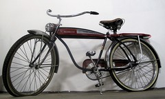 1950 Roadmaster (cook, eat and sleep) Tags: bicycle 1950 roadmaster caliautomuseum