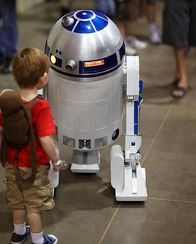 R2-D2 Star Wars Droid 2010 Phoenix Comicon