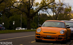 Porsche 911 GT3 RS (Waqar_Ahmed) Tags: porsche 911 gt3 rs porsche911gt3rs 997 porsche911997gt3rs amazing melbourne victoria australia canon sigma superb supercar spotting dof bokeh exotic luxury sports hypercar beautiful stunning spectacular photography automotivephotography automotive carphotography car auto