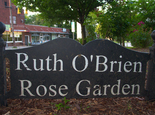 Ruth O'Brien Rose Garden at Lipscomb University, Near Avalon Hall