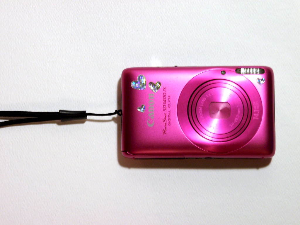 day 159: pink canon
