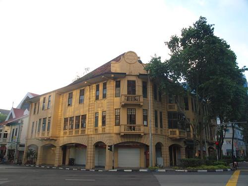 路邊的古典建築