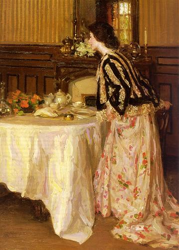 Tea Time by Henry Salem Hubbell