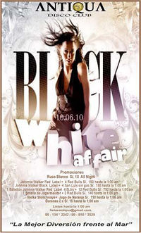 Black White Affair - Antiqua Disco Club