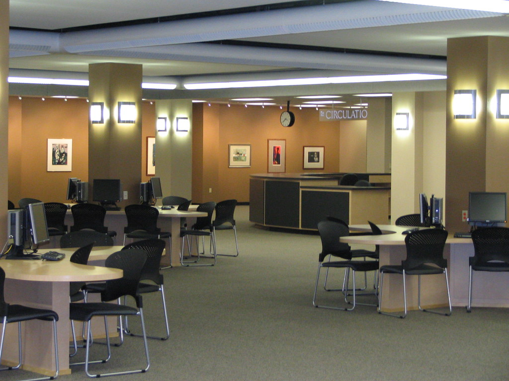 Learning Commons Furniture and Lighting