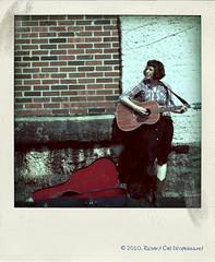 Alexis Poladroided (Richard Call) Tags: music nashville tennessee shelbyville alexisthompson fakevintage poladroid plarodroid