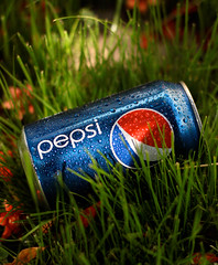 Pepsi In Spring (Foto-Mike) Tags: california flowers light red sun green water grass set canon eos 50mm drops spring drink 14 can pop southern linda empire pepsi soda inland refreshing ef loma 50d
