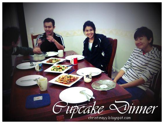 Cupcake Dinner