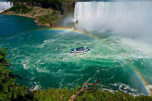 Maid of the Mist Rainbow, Niagara Falls, Ontario, Canada