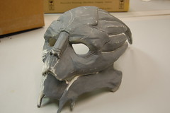 Garrus Mask Sculpt (ammnra) Tags: costume mask masseffect garrus