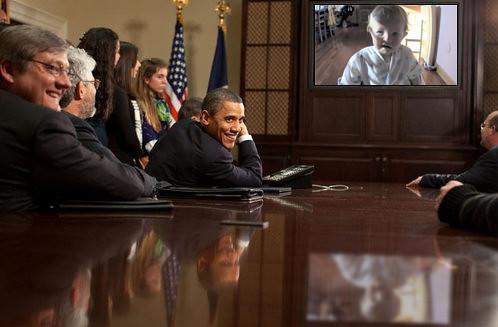 Entertaining Obama