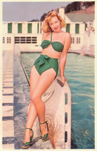 История бикини.Раздельные купальники 1940-50-х.Часть 2.