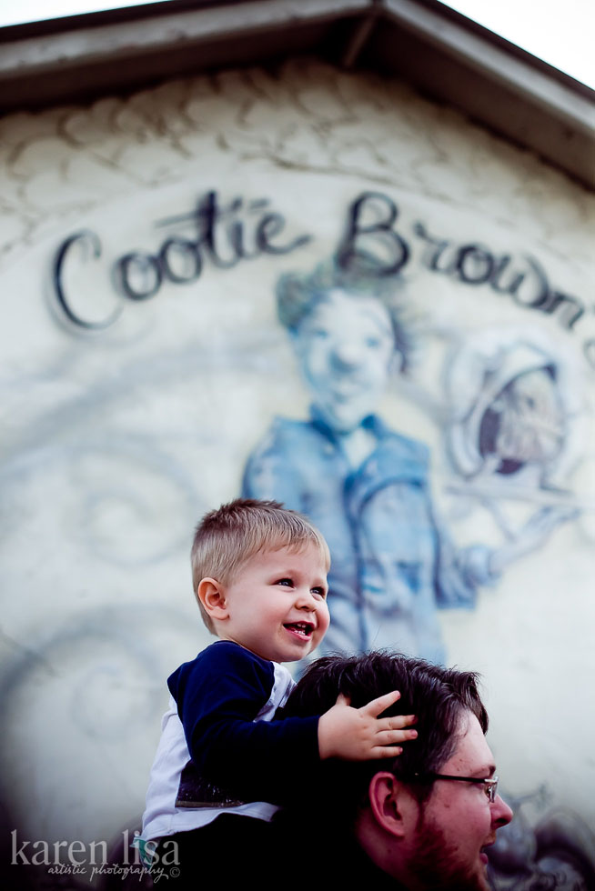Lunch at Cootie Brown's