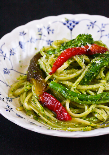 broccoli rabe pasta 1
