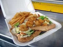 the corner - the shrimp po boy by foodiebuddha