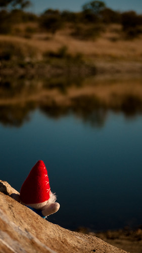 Gnome at the lake