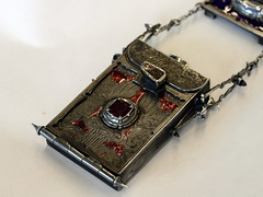 Girdlebox (Card Case) 30 (the justified sinner) Tags: silver skeleton skull belt iron acrylic steel jewelry jewellery chain engraving amethyst toothbrush ruby quartz opal magnet businesscard gryphon engraved tourmaline greenman garnet enamel haematite solinvictus smallwork boulderopal justifiedsinner girdlebox