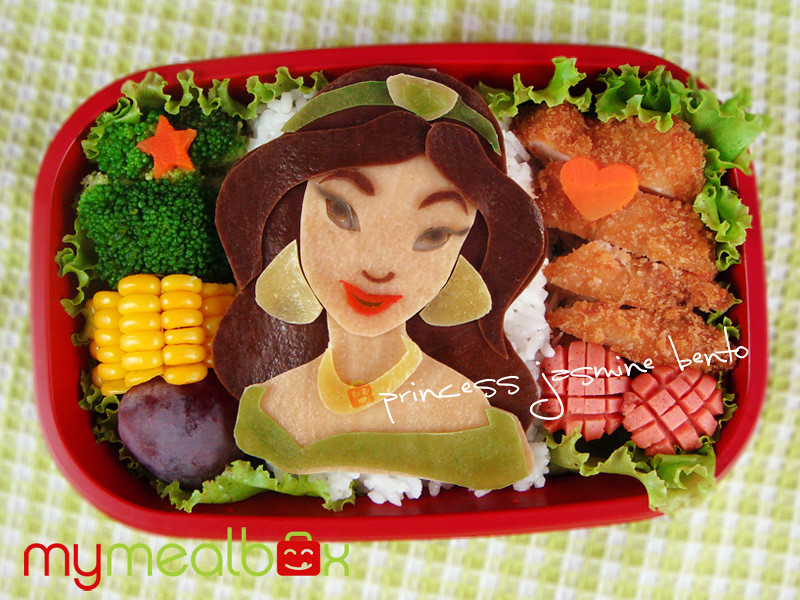 Princess Jasmine bento