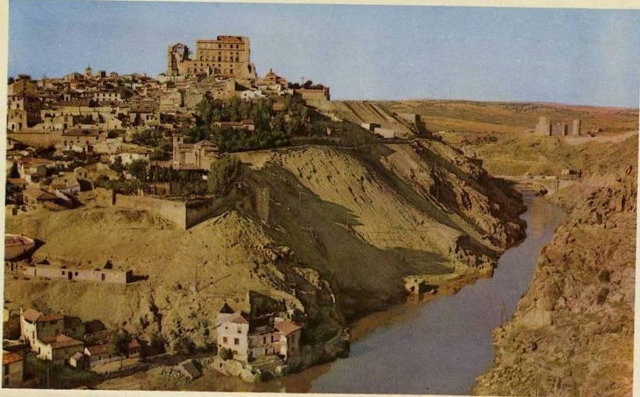 Vista general de Toledo, años 50