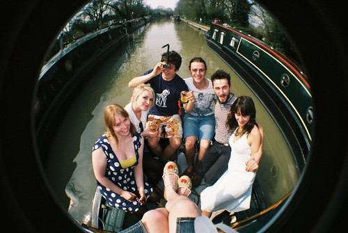 Canal boating Crew