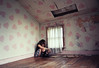 deadbrothers (yyellowbird) Tags: pink ohio house selfportrait abandoned girl wall hearts bedroom cari
