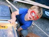 Montessori-oriented woodworking. (Photo from North American Montessori Center)