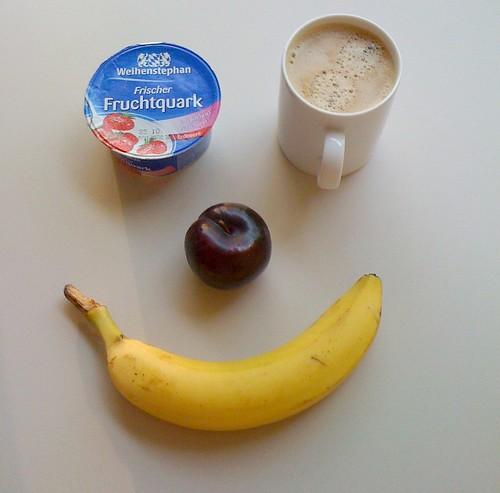 Fruchtquark, Pflaume & Banane