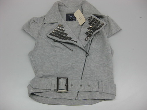 gray vest, P469
