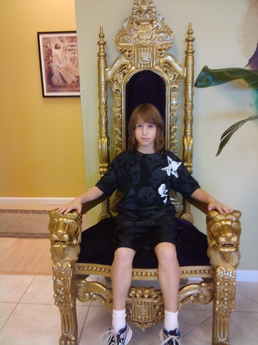 Jarett the king!