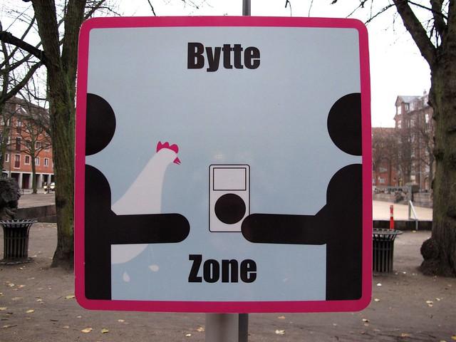 Swap zone