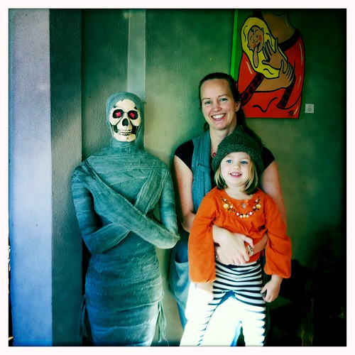 Me, Liv and the mummy