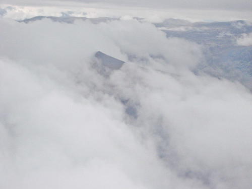 Andean Peak sticking through the clouds