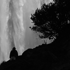 Vernal Falls (nebulous 1) Tags: man water silhouette nikon falls explore yosemite yosemitenationalpark yosemitevalley 356 november9 nebulous1 vermalfalls