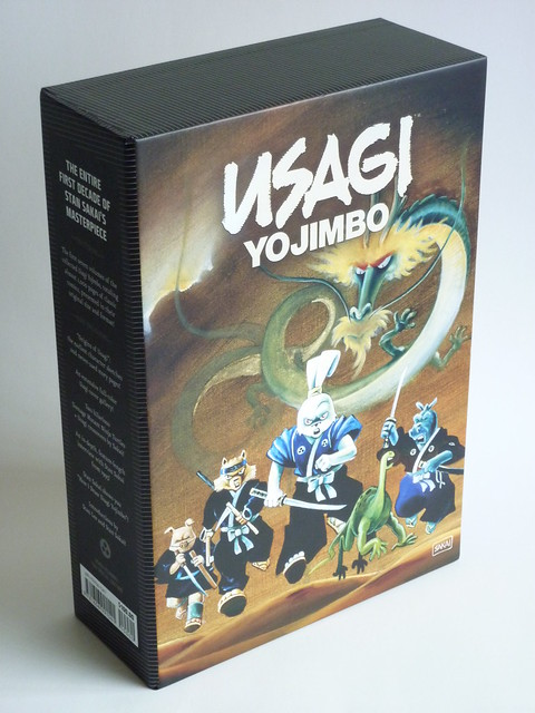 Usagi Yojimbo: The Special Edition by Stan Sakai - slipcase back