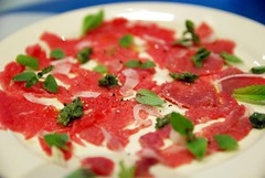 Lamb and Beef Carpaccio