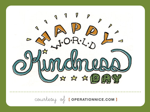 Operation NICE: NICE Assignment: Celebrate World Kindness Day