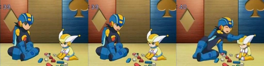 Mega Man and Trill!