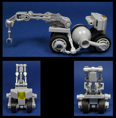A Rover Recovery Rover (Karf Oohlu) Tags: lego moc microscale rover recoveryrover scifi