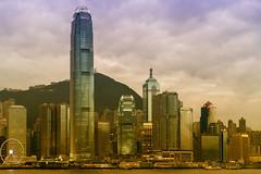 The Glow I - Hongkong 14/188 (*Capture the Moment*) Tags: 1ifc 2ifc 2017 architecture exchangesquare fotowalk hongkong jardinehouse panoshot panorama panoramaview panoramablick sonya7m2 sonya7mii sonya7mark2 sonya7ii sonyfe2470mmf4zaoss sonyilce7m2 starferry starferrypier cosco