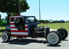 Red, White, and Blue (jHc__johart) Tags: 1926fordtruckchassis ratrod plywood oklahoma redwhiteandblue