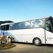Автобус остановился перед тиватским аэропортом