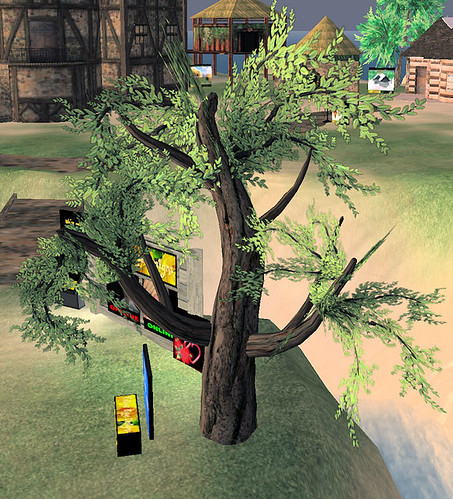 25L Tuesday Yellow Rose 4 prim garden tree